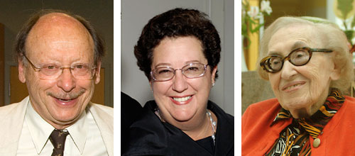 Three portraits of Jewish Home community partners