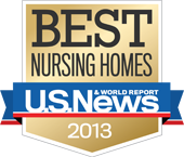 U.S. News & World Report, best nursing homes badge 2013