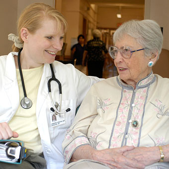 Nurse Practitioner with resident
