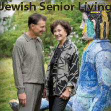 Cover of 2012 - 2013 Jewish Senior Living magazine