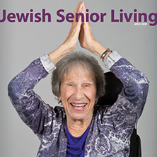 Cover of 2013 - 2014 Jewish Senior Living magazine