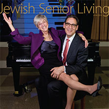Cover of 2014 - 2015 Jewish Senior Living magazine