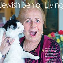 Cover of 2015 - 2016 Jewish Senior Living magazine