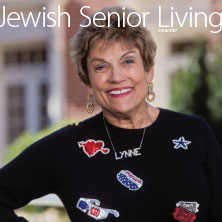 Cover of 2016 - 2017 Jewish Senior Living magazine