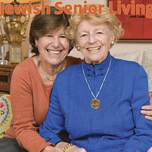 Cover of 2009 - 2008 Jewish Senior Living magazine