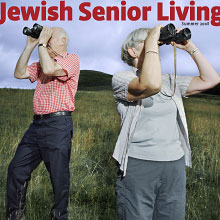 Cover of Summer 2008 Jewish Senior Living magazine