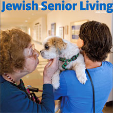 Cover of 2010 - 2011 Jewish Senior Living magazine